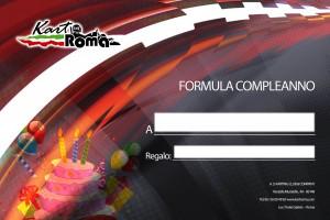 kart formula compleanno